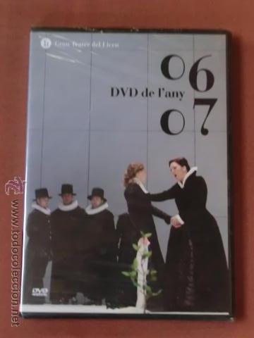 DVD - TEMPORADA OPERA LICEU / LICEO BARCELONA - DVD DE L'ANY / DEL AÑO - 2006 - 2007 - PRECINTADO (Música - Videos y DVD Musicales)