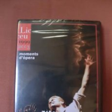 Vídeos y DVD Musicales: DVD - LICEU / LICEO BARCELONA - MOMENTS D'ÒPERA / MOMENTOS DE ÓPERA 1999 - 2003 - PRECINTADO. Lote 52298760
