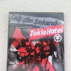 Vídeos y DVD Musicales: DVD DVD . TOKIO HOTEL . LEB DIE SEKUNDE BEHIND THE SCENES - 2005 - PRECINTADO. Lote 52300035