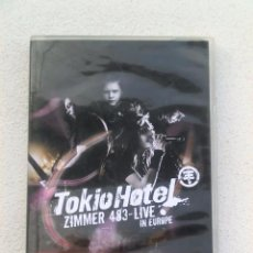 Vídeos y DVD Musicales: DOBLE DVD - TOKIO HOTEL - ZIMMER 483 - LIVE IN EUROPE - 2007. Lote 52300139