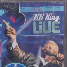 Vídeos y DVD Musicales: B.B. KING - LIVE - DVD PRECINTADO. Lote 52313908