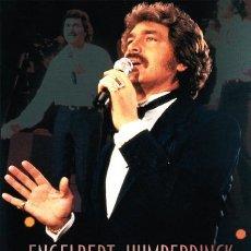Vídeos y DVD Musicales: ENGELBERT HUMPERDINCK LIVE. Lote 52398720