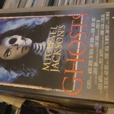 Vídeos y DVD Musicales: MICHAEL JACKSON GHOSTS VHS VIDEO . Lote 53078684