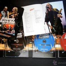 Vídeos y DVD Musicales: OTRA NOCHE SIN DORMIR ROSENDO, BARRICADA Y AURORA BELTRÁN. DOBLE DVD + CD. COLECCIONISTA. Lote 53261723