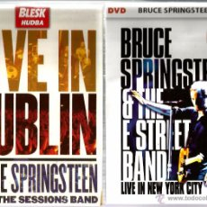 Vídeos y DVD Musicales: 2 DVD BRUCE SPRINGSTEEN AND THE E STREET BAND : LIVE IN NEW YORK CITY ( DOBLE) + LIVE IN DUBLIN . Lote 53334475