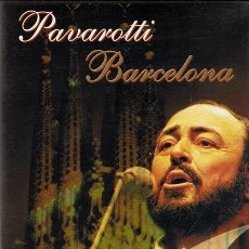 Vídeos y DVD Musicales: DVD PAVAROTTI BARCELONA. Lote 53335575