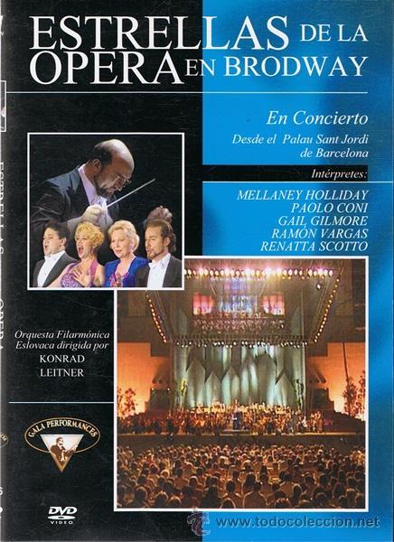 DVD ESTRELLAS DE LA ÓPERA EN BRODWAY (Música - Videos y DVD Musicales)