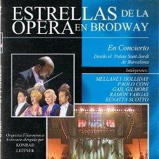 Vídeos y DVD Musicales: DVD ESTRELLAS DE LA ÓPERA EN BRODWAY . Lote 53335617