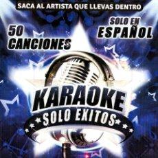Vídeos y DVD Musicales: KARAOKE DVD SOLO EXITOS - 50 TEMAS MUSICALES VER TEMAS. Lote 182874873
