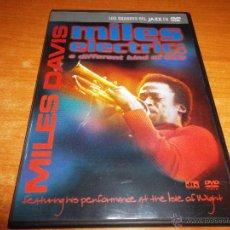 Vídeos y DVD Musicales: MILES DAVIS MILES ELECTRIC : A DIFFERENT KIND OF BLUE DVD HECHO EN ESPAÑA 2004 123 MINUTOS. Lote 53473404