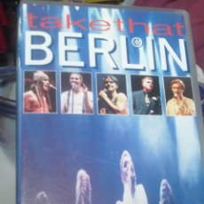 Vídeos y DVD Musicales: TAKETHAT LIVE IN BERLIN. Lote 53512568