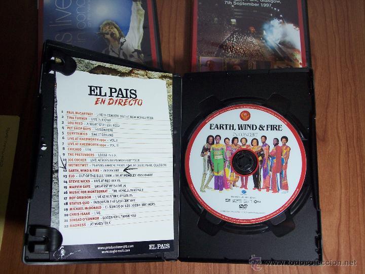 Vídeos y DVD Musicales: LOTE DE DVD (EL PAIS EN CONCIERTO)-PAUL McCARTNEY / WET WET WET / EARTH,WIND & FIRE - Foto 3 - 53571312