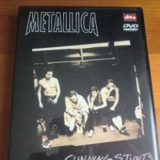 Vídeos y DVD Musicales: DVD METALLICA: CUNNING STUNTS (2.004) ¡COMO NUEVO!. Lote 53631387
