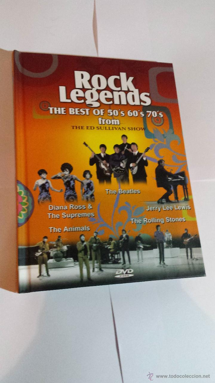 Image of: Misunderstood Rock Legends The Best Of 50s 60s 70s From De Ed Sullivan Show Libro Dvd Todocoleccion Rock Legends The Best Of 50s 60s 70s From De Buy Vhs And Dvd