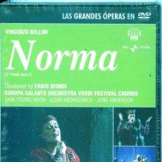 Vídeos y DVD Musicales: NORMA (VINCENZO BELLINI) DOBLE DVD. Lote 54168804
