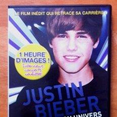 Vídeos y DVD Musicales: JUSTIN BIEBER - C'EST MON UNIVERS. Lote 54433581