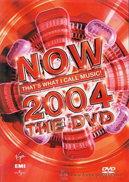 DVD NOW THAT´S WHAT I CALL MUSIC! 2004 THE DVD (Música - Videos y DVD Musicales)