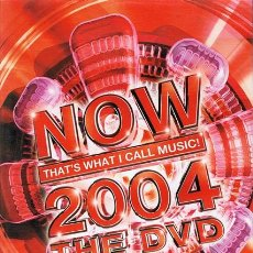 Vídeos y DVD Musicales: DVD NOW THAT´S WHAT I CALL MUSIC! 2004 THE DVD . Lote 54438790
