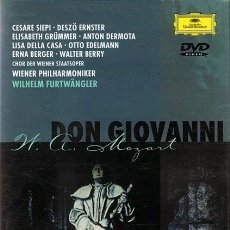 Vídeos y DVD Musicales: DVD DON GIOVANNI W. A. MOZART. Lote 54445403