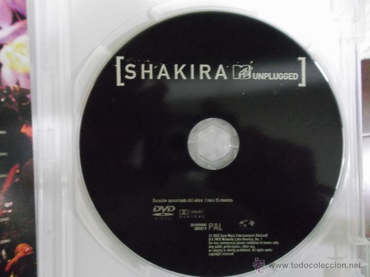 Vídeos y DVD Musicales: SHAKIRA MTV ANPLUGGED - 2002 SONY MUSIC - Foto 4 - 54470270