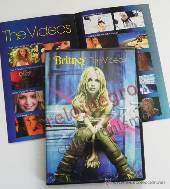 BRITNEY THE VIDEOS - DVD MÚSICA POP - LOS VIDEOS DE SPEARS -EN INGLÉS - MAKING OF - JOY OF PEPSI ETC (Música - Videos y DVD Musicales)
