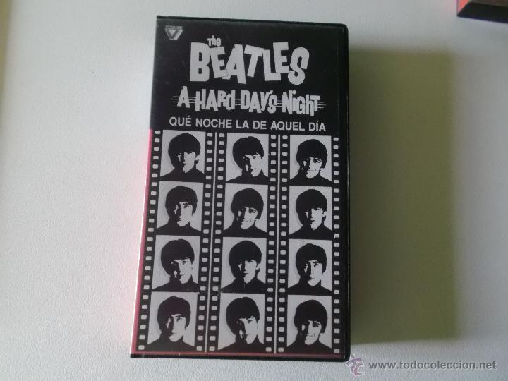 THE BEATLES - QUE NOCHE LA DE AQUEL DIA - VIDEO VHS 1984 (Música - Videos y DVD Musicales)