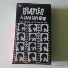 Vídeos y DVD Musicales: THE BEATLES - QUE NOCHE LA DE AQUEL DIA - VIDEO VHS 1984. Lote 54721691
