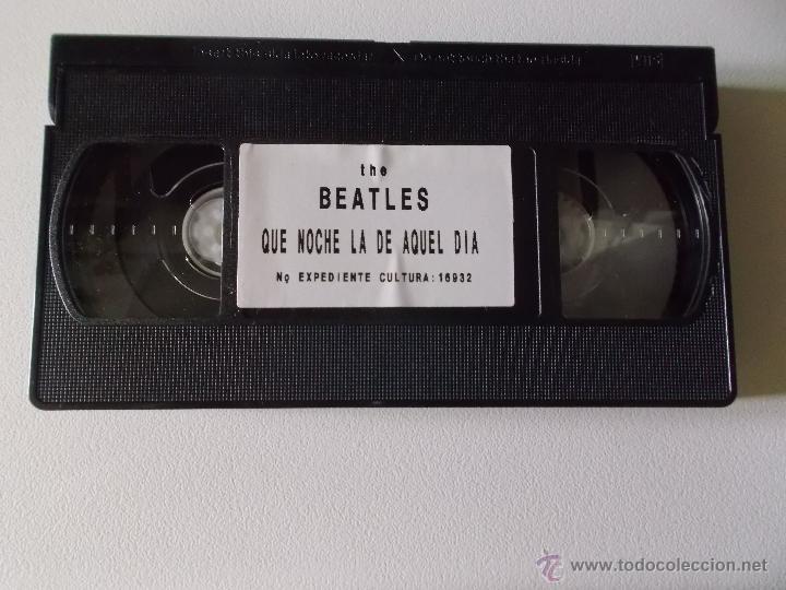 Vídeos y DVD Musicales: THE BEATLES - QUE NOCHE LA DE AQUEL DIA - VIDEO VHS 1984 - Foto 4 - 54721691