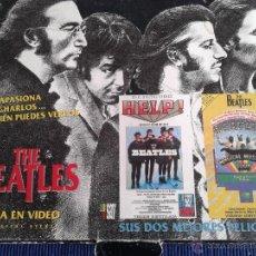 Vídeos y DVD Musicales: THE BEATLES MAGICAL MYSTERY TOUR Y HELP ! 2 VIDEO VHS EN VERSION SUBTITULADA. Lote 54736768