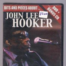Vídeos y DVD Musicales: JOHN LEE HOOKER - BITS AND PIECES ABOUT... (DVD + BONUS CD, NUEVO Y PRECINTADO). Lote 54983571
