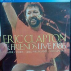 Vídeos y DVD Musicales: DVD ERIC CLAPTON & FRIENDS LIVE 1986. Lote 55079820