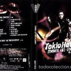 Vídeos y DVD Musicales: DOBLE DVD TOKIO HOTEL , ZIMMER 483-LIVE IN EUROPA. Lote 55360934