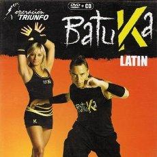 Vídeos y DVD Musicales: DVD BATUKA LATIN DVD + CD. Lote 55392778