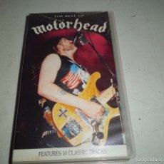 Vídeos y DVD Musicales: THE BEST OF MOTORHEAD VHS VIDEO. Lote 55804864