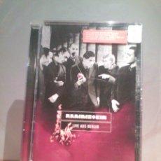 Vídeos y DVD Musicales: DVD RAMMSTEIN - LIVE AUS BERLIN. Lote 55916483