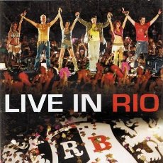 Vídeos y DVD Musicales: DVD RBD ¨LIVE IN RIO¨. Lote 56010164