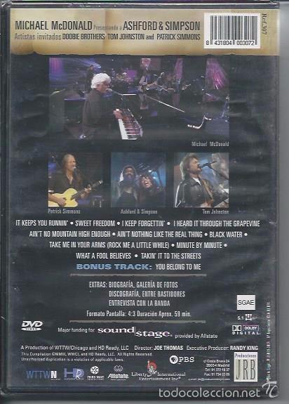 Vídeos y DVD Musicales: SOUND STAGE -MICHAEL MC DONALD - Foto 2 - 56025546