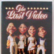 Vídeos y DVD Musicales: ABBA, THE LAST VIDEO - DVD CON LIBRETO. Lote 56242978