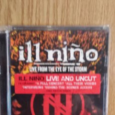 Vídeos y DVD Musicales: IL NIÑO. LIVE FROM THE EYE OF THE STORM. DVD / ROADRUNNER RECORDS-2004 / CALIDAD LUJO.. Lote 56297040