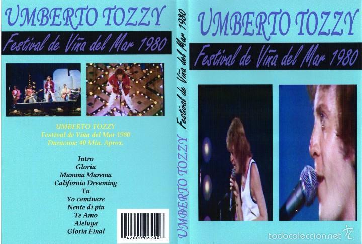 Vídeos y DVD Musicales: UMBERTO TOZZI EN VIVO FESTIVAL DE LA CANCION DE VIÑA DEL MAR 1980 DVD JOYA ABSOLUTA - Foto 1 - 57391677