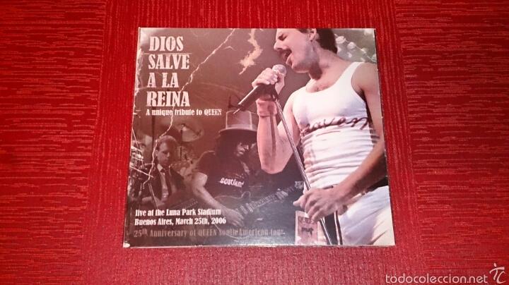 DIOS SALVE A LA REINA - A UNIQUE TRIBUTE TO QUEEN (Música - Videos y DVD Musicales)