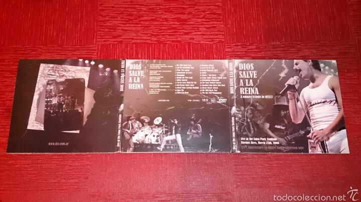 Vídeos y DVD Musicales: Dios Salve a la Reina - A Unique Tribute to Queen - Foto 3 - 56620004