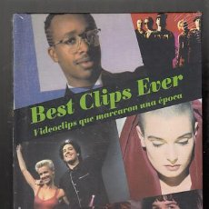 Vídeos y DVD Musicales: BEST CLIPS EVER. AÑO 1990. SIN DESPRECINTAR. Lote 56828629
