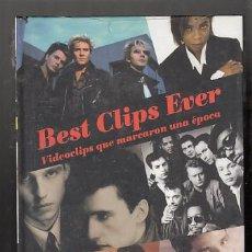 Vídeos y DVD Musicales: BEST CLIPS EVER. AÑO 1993. SIN DESPRECINTAR. Lote 89675631