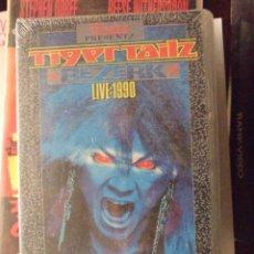 Vídeos y DVD Musicales: VHS TIGER TAILZ - BEZERK LIVE 1990 - SAV 1990 PRECINTADO. Lote 56892234