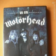 Vídeos e DVD Musicais: MOTÖRHEAD: LIVE AT OPEN AIR GAMPEL WE ARE WALLIS , SWITZERLAND 2002 DVD DESCATALOGADO NUEVO¡¡¡. Lote 57095181