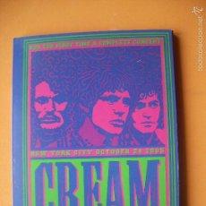 Vídeos y DVD Musicales: CREAM FOR THE FIRST TIME CONCET NEW YORK CITY 24 / 10 /2005 DVD NUEVO¡¡¡DESCATALOGADO PEPETO. Lote 57095387