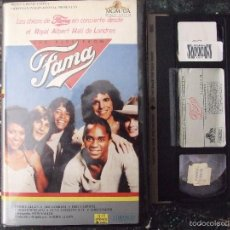 Vídeos y DVD Musicales: THE KIDS FROM FAMA - ROYAL ALBERT HALL DE LONDRES - CONCIERTO 1983 MGM VHS. Lote 57119251