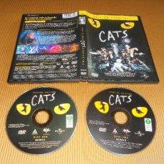 Vídeos y DVD Musicales: CATS - 2 DVD - 903 658 9 - EDICION ESPECIAL - ANDREW LLOYD WEBBER - UNIVERSAL. Lote 57130949
