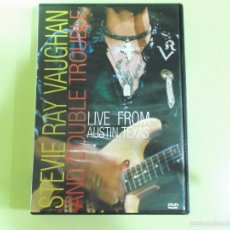 Vídeos y DVD Musicales: STEVIE RAY VAUGHAN - LIVE FROM AUSTIN, TEXAS - 1995. Lote 57150433